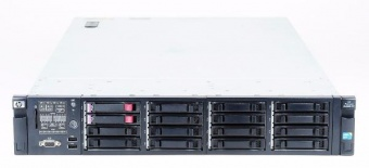 HP ProLiant DL380 G7  2 х Xeon E5620